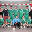 Training en oefenduel REF United op weg naar NK zaalvoetbal