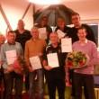 Alfons, Bert en Henk ronden COVS-trainerscursus met goed gevolg af