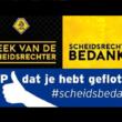 Week van de Scheidsrechter (25 september t/m 3 oktober)